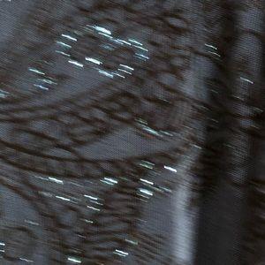 Vikki Vi Tops - Vikki Vi 3/4 Sleeve Blue/Black Blouse 1X